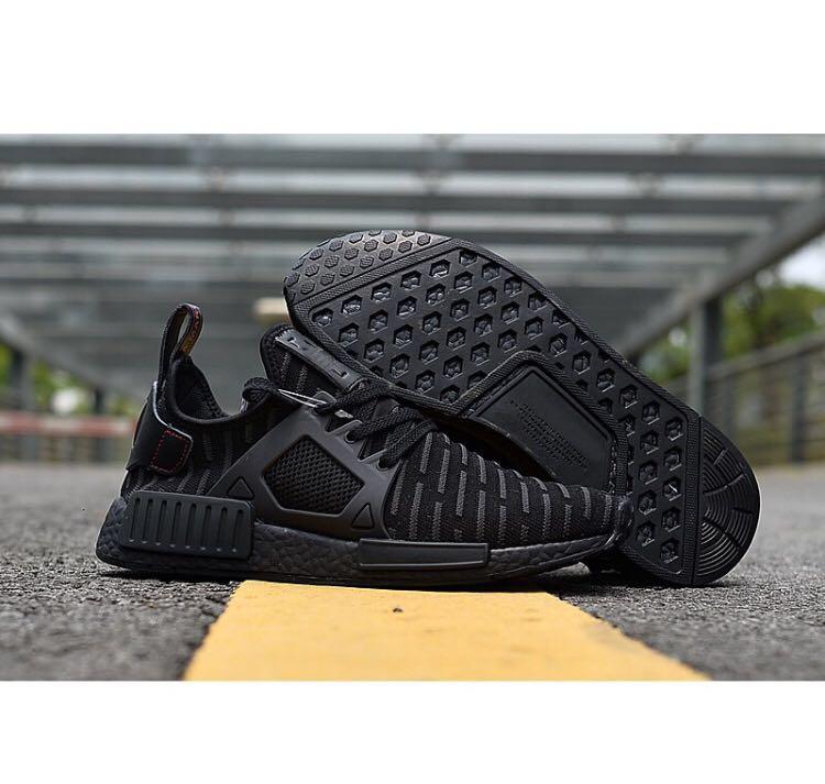 70f9f2df6e17 PO) Adidas NMD XR1 Triple Black PK