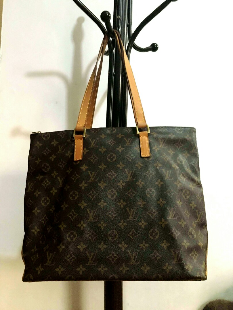 7900200aa9f Lowest Price ever! Preloved authentic Louis Vuitton Cabas Mezzo monogram  tote bag