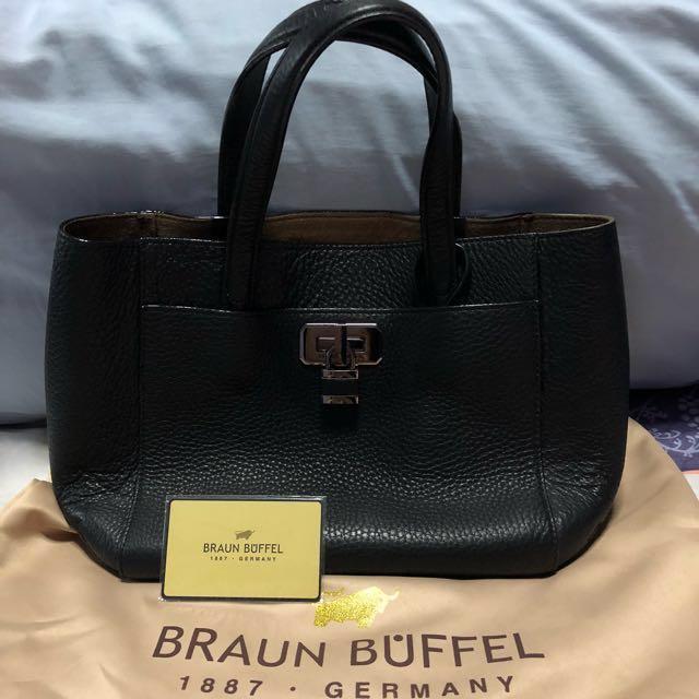 Preloved Braun Buffel Hand Bag