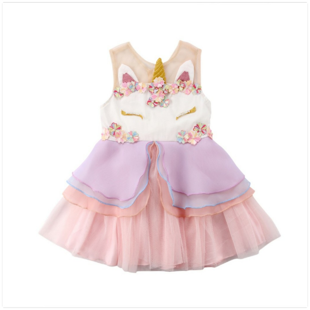 Girl Dress Unicorn [ Pre Order ]