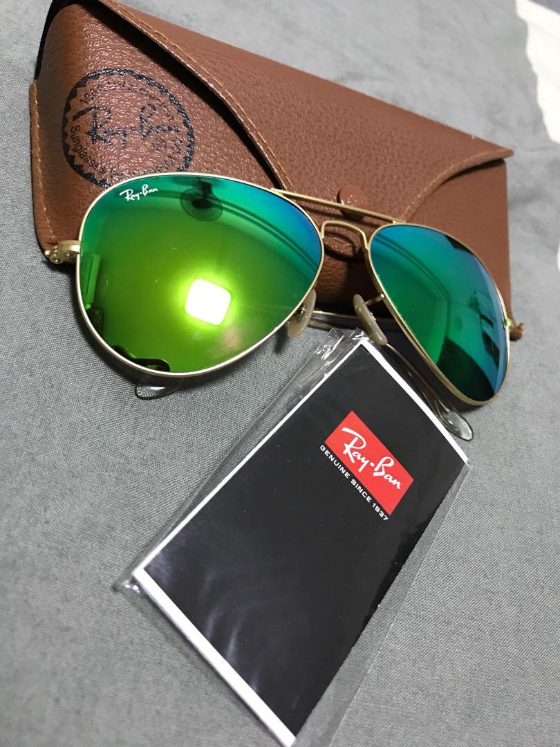 0af9d332f2c34 Rayban Flash lense Aviator, Women s Fashion, Accessories, Eyewear ...