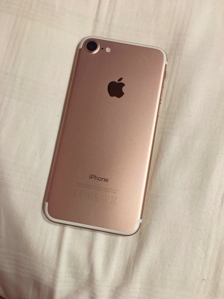 Rose Gold Iphone 7 256gb Mobile Phones Tablets Plus Jet Black Silver Red Original 100 Series On Carousell
