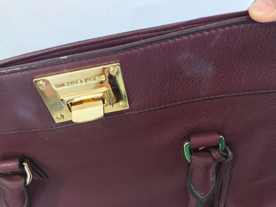 15391051fc23 !!SALE!! MK AUTHENTIC Maroon handbag