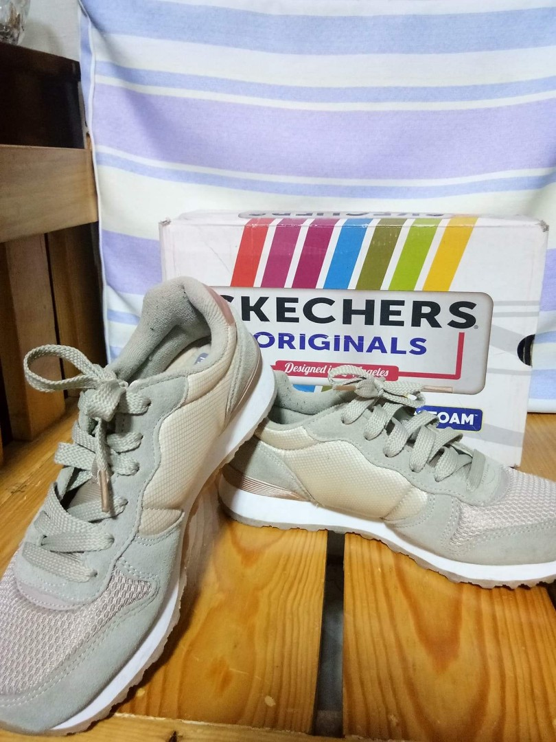 skechers originals with air cooled memory foam