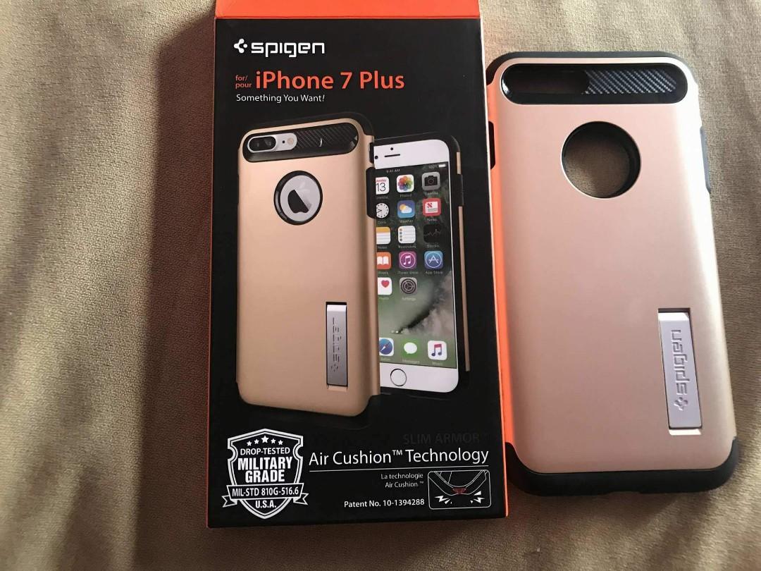 timeless design ce3bd a395c Spigen case iphone 7plus gold