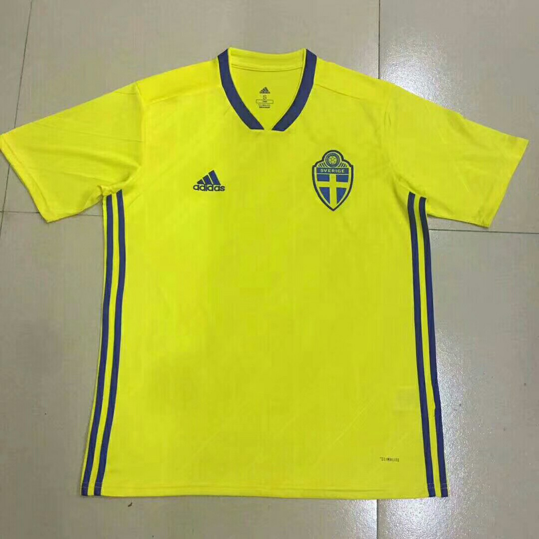 080f0a266 Sweden World Cup 2018 Home Short Sleeve Kit