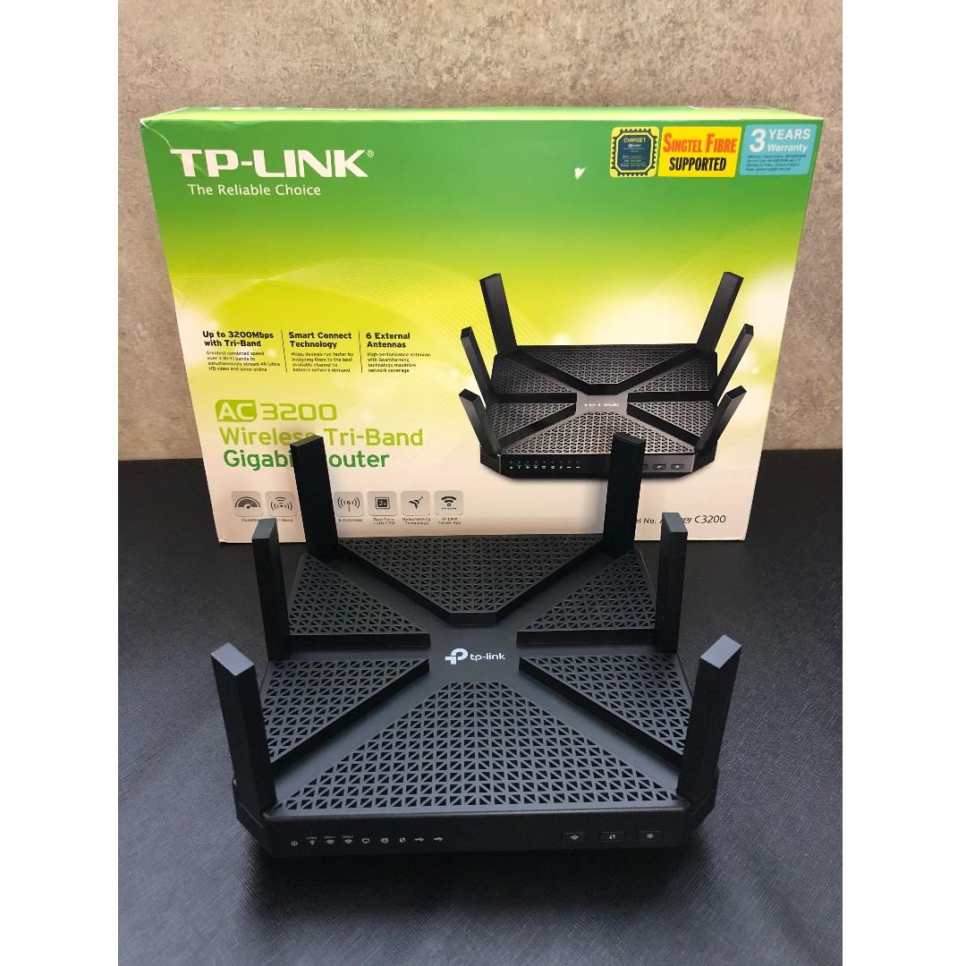 TP-Link Archer C3200 Wireless AC Router