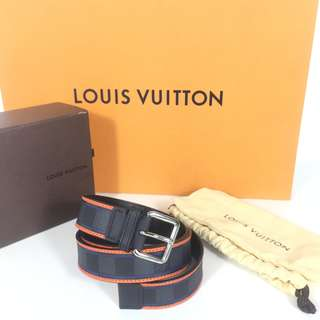 AUTHENTIC LOUIS VUITTON BELT DISTRICT 38 INCH DATECODE:CA0133