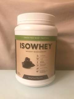 Isowhey Ivory Coast Chocolate (672g)