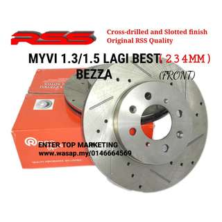 RSS Disc Rotor Brake Myvi 13/1.5 Lagi Best / Bezza / Alza