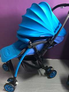 Baby Maxim F1 Reversible Stroller