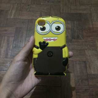 iphone 4/4s minion case