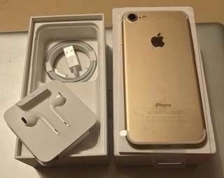 Iphone 7 128Gb Gold kredit aja gan