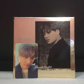 [EXO OFFICIAL] EXO 2nd Album <EXODUS> Korean version (Kai Cover + Kai Photocard)