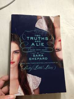English Novel Two Truths And A Lie by Sara Shepard