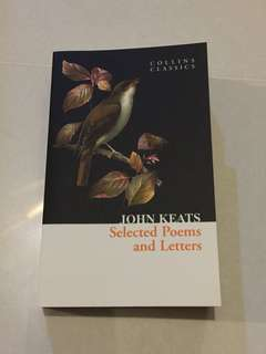 Selected Poems and Letters of John Keats