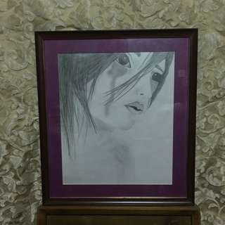 Sad Girl Art Sketch