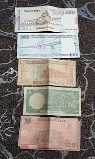 710 Bangladesh Taka (=S$ 11.25) @ S$ 9 only.