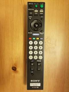 Sony TV remote control 電視搖控