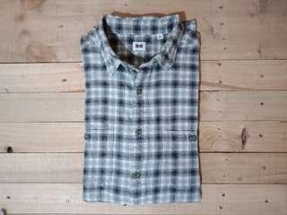 Flannel uniqlo size XL