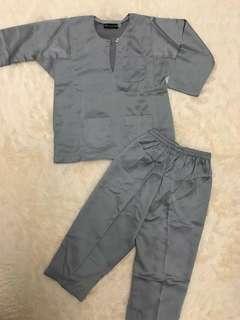 Preloved Baju Melayu for Boys (2years)