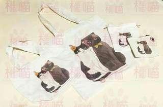 原創訂造貓貓袋套裝#訂製 #自家製 #手繪 #畫 #布袋 #寵物 #貓 #狗 #兒童