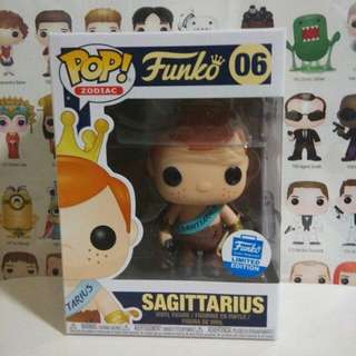 Funko Pop Sagittarius Freddy Exclusive Vinyl Figure Collectible Toy Gift Horoscope Zodiac