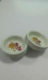 Mini size enamel plates