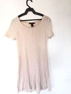 Forever 21 cream dress (never used)