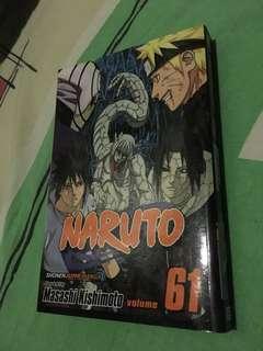 Naruto shippuden volume 61 (shonen jump manga)