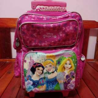 Orig Disney Princess trolley bag