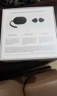 Bang and Olufsen E8 wireless headphones