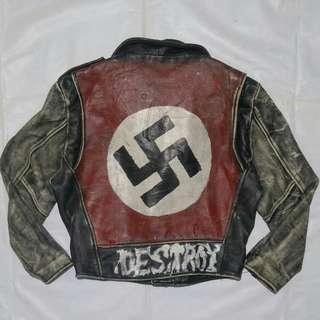 jaket kulit ramones nazi