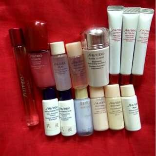 Shiseido Samples ($20 or above)