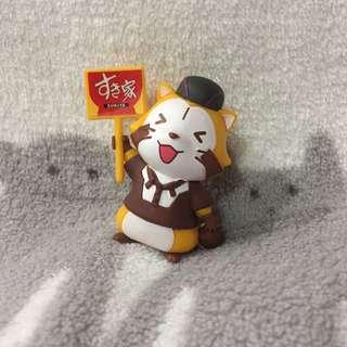 🇯🇵JAPAN ☆全新☆ 小浣熊 拉斯卡爾 磁鐵 すき家限定