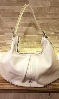 AUTHENTIC BURBERRY LEATHER SHOULDER  BAG