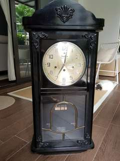 Vintage Clock Junghans Westminster Antique