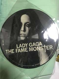 Lady Gaga The Fame Monster Picture LP Vinyl Limited Edition