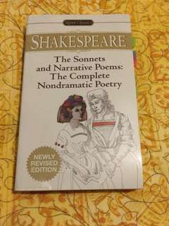 Shakespeare's Complete Poetry (Sonnets and Narrative)
