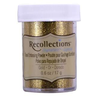 Recollections Signature - Tinsel Embossing Powder (Gold)