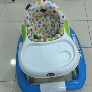 Baby walker cum rocker