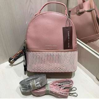PROMO RAMADHAN!!CHARLES&KEITH BACKPACK ORIGINAL