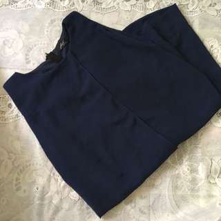 Blue Long Blouse Dress From Thailand