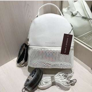 PROMO RAMADHAN!! CHARLES&KEITH BACKPACK ORIGINAL
