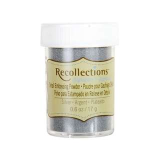 Recollections Signature - Detailed Embossing Powder (Silver)
