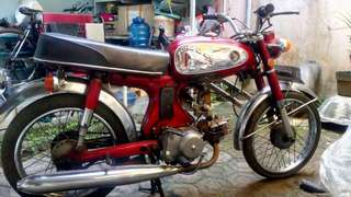 Jual motor honda S90 thn 1969