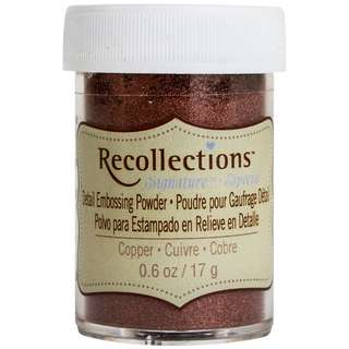 Recollections Signature - Detailed Embossing Powder (Copper)