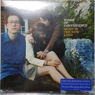 Vinyl LP : Kings Of Convenience - Quiet Is The New Loud (Limited Edition)