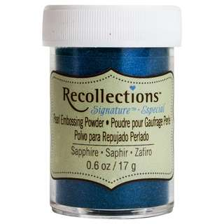 Recollections Signature - Pearl Embossing Powder (Sapphire Blue)