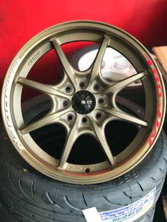 Mugen mf8 16 inch sports rim honda ek eg ej eh jazz city freed